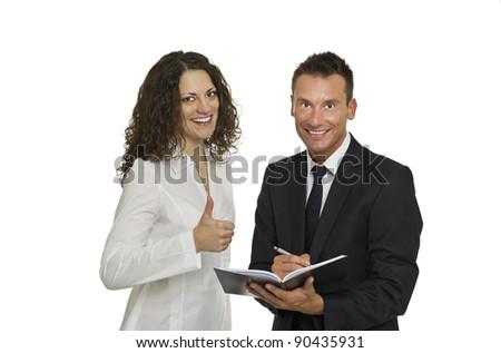 successful team - stock photo