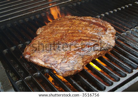 Succulent Flank Steak BBQ