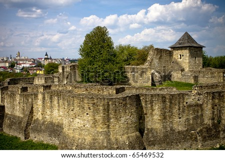 Suceava Stronghold in Romania