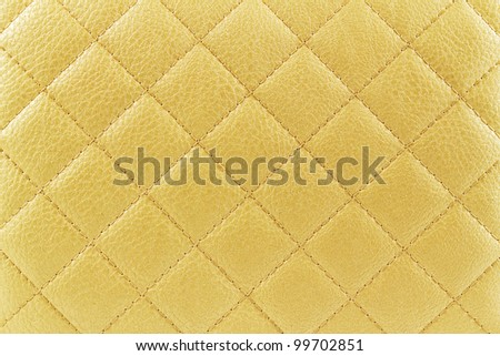 Suede with stripes stitched across criss. - stock photo