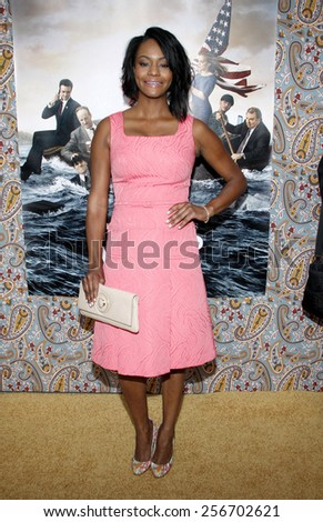 """Sufe Bradshaw at the HBO's Season 3 premiere of """"Veep"""" held at the Paramount Studios in Hollywood on March 24, 2014 in Los Angeles, California.  - stock photo"""
