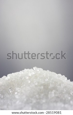 Sugar, close-up shot, shallow DOF - stock photo
