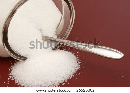 Sugar Container - stock photo
