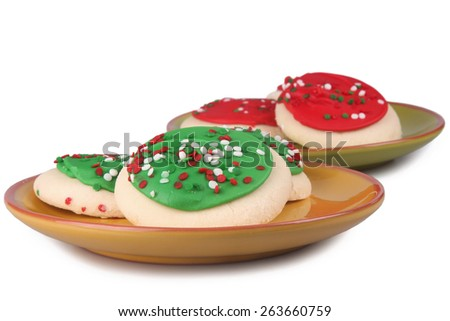 Sugar Cookies - stock photo