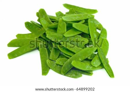 Sugar Snap Peas - stock photo