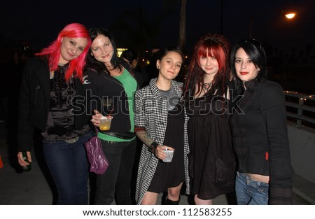 Suicide Girls at the Suicide Girls Magazine Premiere Party, Private Location, Los Angeles, CA 04-17-07
