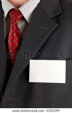 suit badge #6 - stock photo