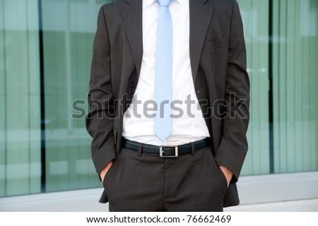 Suit details - stock photo