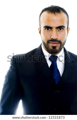 Suit Guy (Hispanic Male) - stock photo
