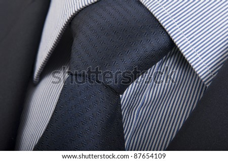 Suit, shirt and tie - stock photo