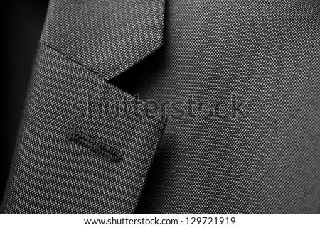 Suit Texture Close Up - stock photo