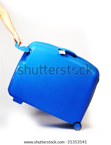 suitcase - stock photo