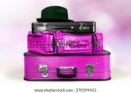 Suitcase. - stock photo
