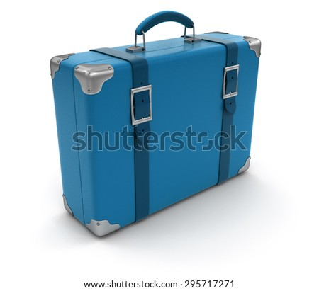 Suitcase (clipping path included)