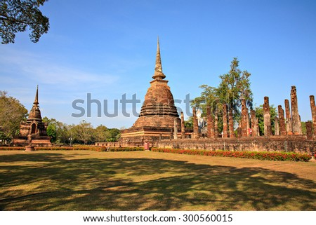 Sukhothai Historical Park, former capital city of Thailand