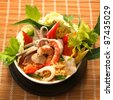 sukiyaki, asian cuisine. - stock photo