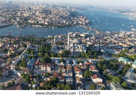 Suleymaniye Mosque - stock photo