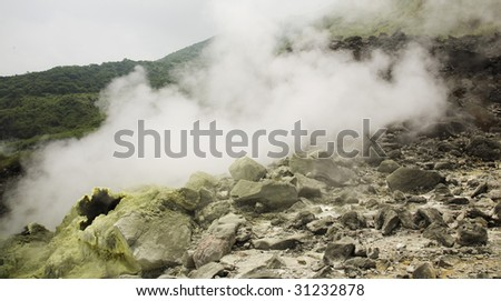 sulfur valley
