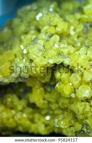 sulphur - stock photo