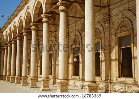 Sultan Hassan Mosque in Cairo - exterior
