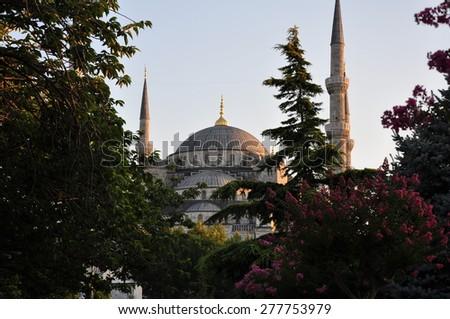 Sultanahmet Mosque - stock photo