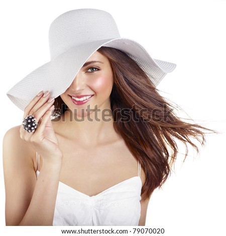 Summer beauty - stock photo