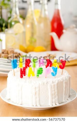 Summer Birthday Party - stock photo
