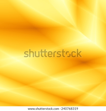 Summer bright template abstract modern yellow design - stock photo