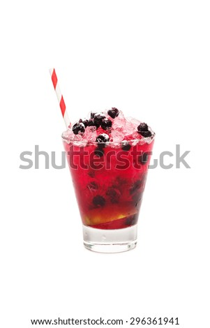 summer cocktail - stock photo