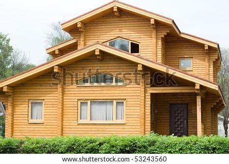 Summer cottage - stock photo