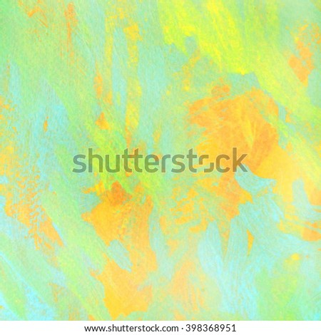 summer day, abstract interior painting, illustration, background - stock photo