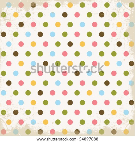 Summer Dots Background