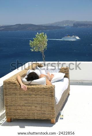 Summer dream - stock photo