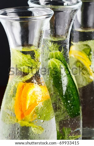 summer drink - stock photo