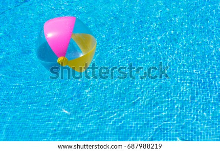 Swimming Pool Beach Ball Background swimming pool ball stock images, royalty-free images & vectors
