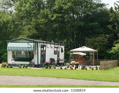 Summer house - stock photo