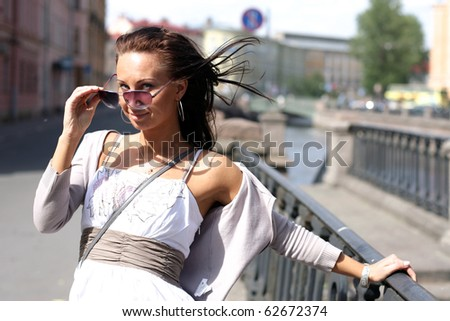 Summer in the city - stock photo