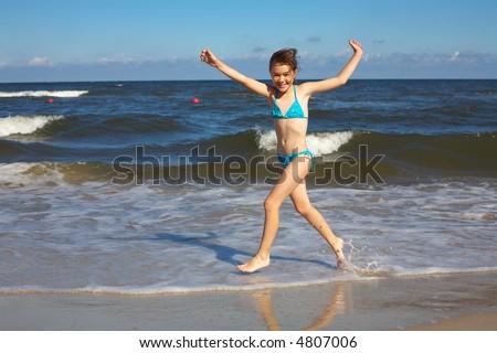 Summer joy - stock photo