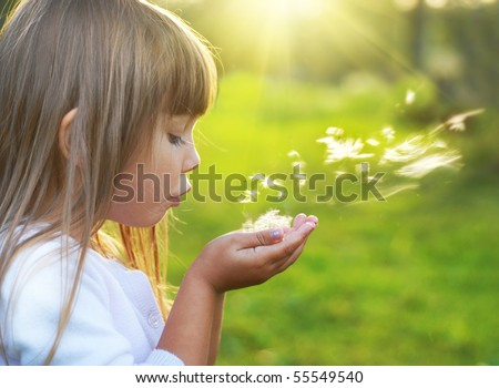 Summer joy - stock photo