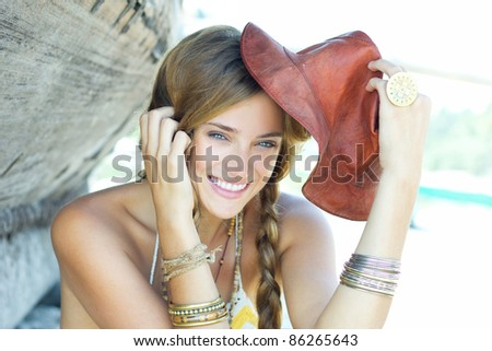 Summer moment - stock photo