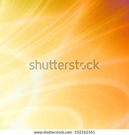 Summer orange abstract background - stock photo