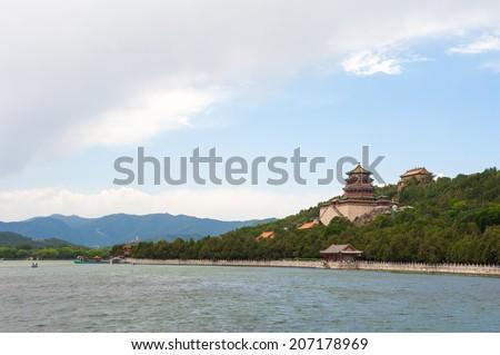 Summer Palace - stock photo