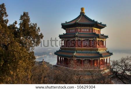 Summer Palace, Beijing China - stock photo