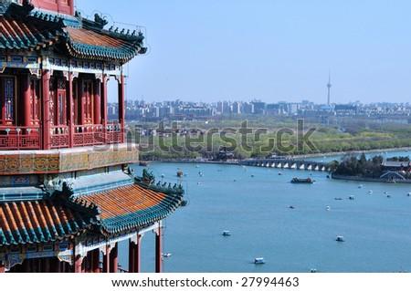 Summer Palace, Beijing (China) - stock photo