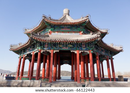 Summer Palace in Beijing - stock photo