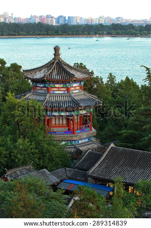 Summer Palace in Beijing, China - stock photo