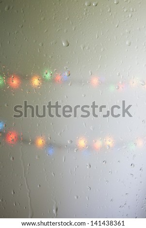 Summer. Rain. - stock photo