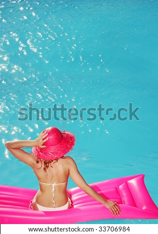 Summer relax, similar available in my portfolio - stock photo