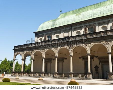 Summer residence of the Queen Anna, Prague - the Czech republic - stock photo