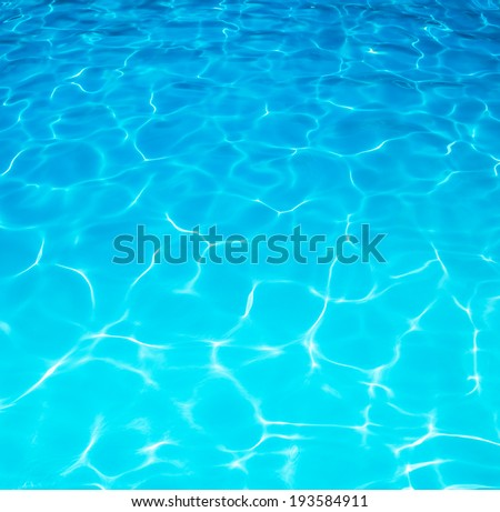 Summer resort water ripple or water surface, under a beautiful sunny day.  - stock photo